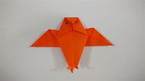 De Origami - como hacer un buho de origami