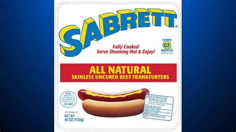 sabrett recall millions of pounds of dogs recalled due to bone fragments 171 cbs pittsburgh