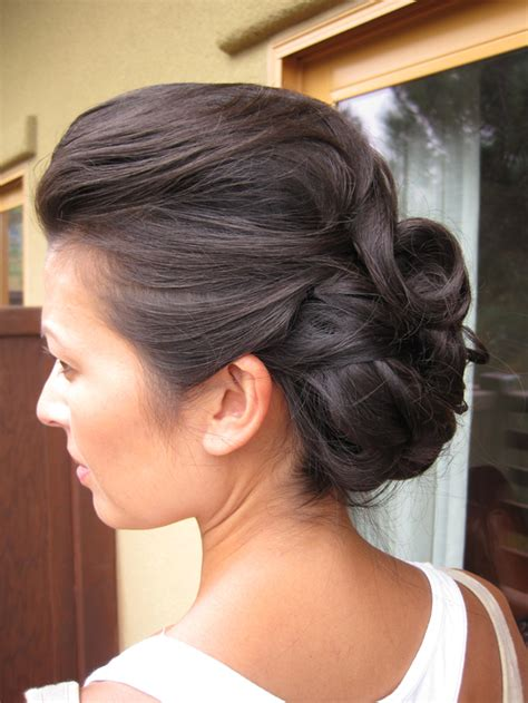 Wedding Hair With Bouffant by Wedding Updo With Bouffant And Curls By Meleah