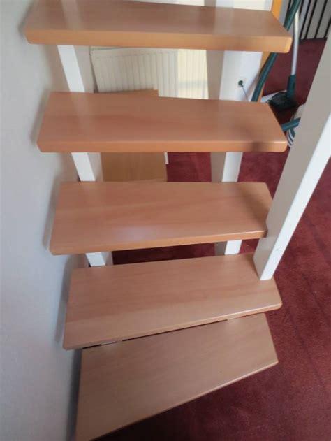 Treppe Ohne Geländer by Viertel Gewendelt Buche Wei 223 Lack Gel 228 Nder Ohne St 228 Be