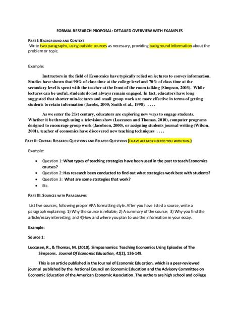 Research Formal Letter Formal Research In Detail