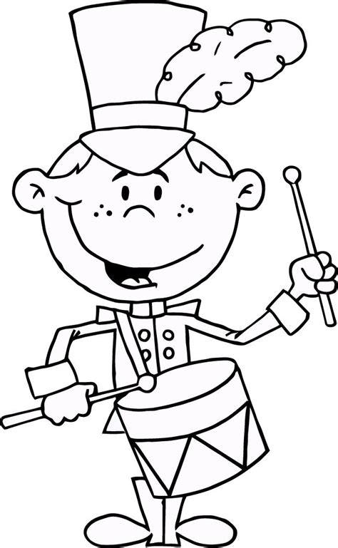 drummer drumming coloring pages  kids coloring point coloring point