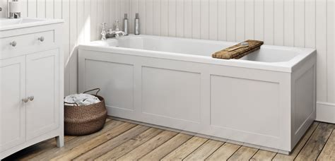 how to fit a bathtub in a small bathroom how to fit a wooden bath panel victoriaplum com