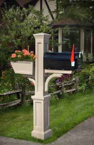 mailbox  flower box mailbox garden