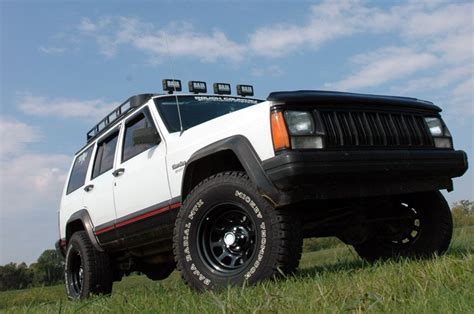 Jeep 2 Inch Lift Kit Rou 670p Country 3in 84 01 Jeep Xj