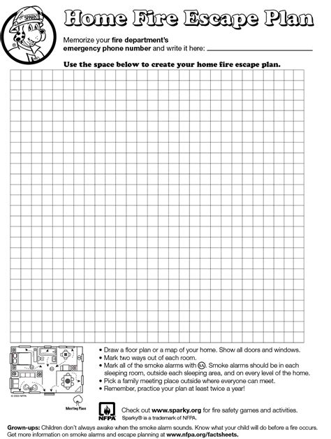 make your own home escape plan