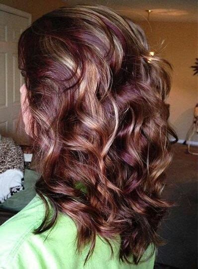 blonde and burgundy high and low lights for short ladies hairstyles 53 exclusive burgundy hair color ideas for alluring tresses