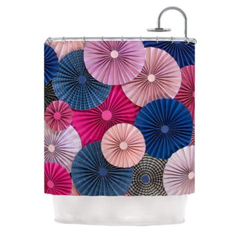 Pink And Navy Curtains Navy Blue And Pink Shower Curtain Curtain Menzilperde Net