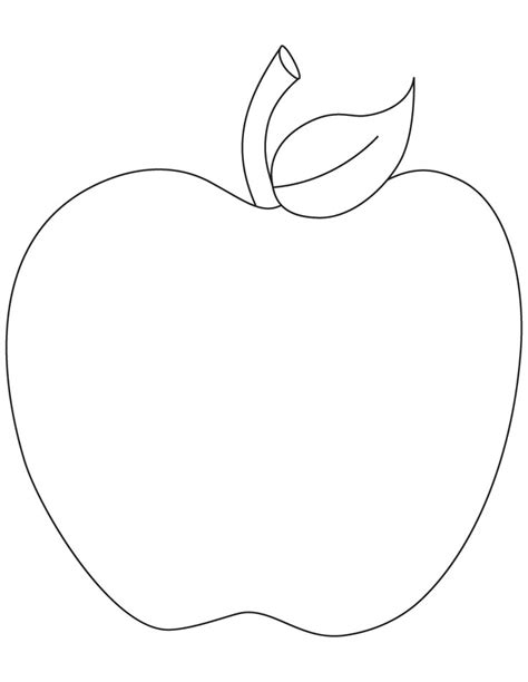 coloring page with apple free coloring pages of manzana apple