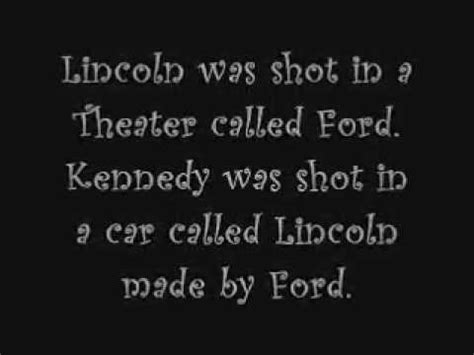 lincoln and kennedy assassination similarities lincoln kennedy coincidences