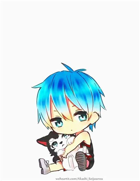 kuroko tetsuya chibi image 2540812 by taraa on favim com