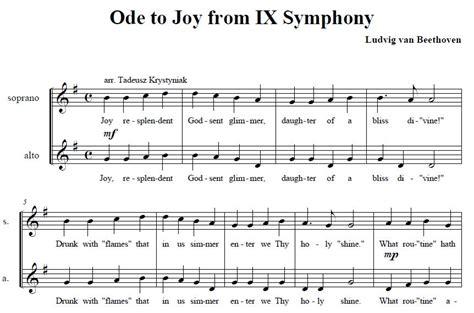 song 2 testo inno alla gioia testo 28 images musica classica musica