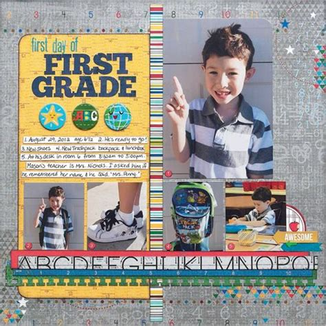 scrapbook layout magazine 318 best images about scrapbook school layouts on
