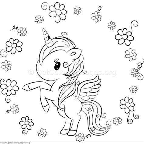coloring pages of cute unicorns cute unicorn 9 coloring pages getcoloringpages org