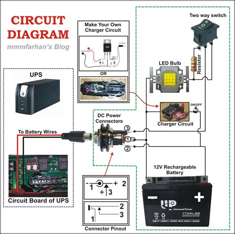 ups circuit diagram for computer choice image how to