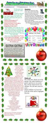december newsletter template 66 best images about daycare forms assessment on