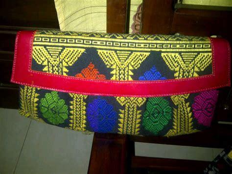 Tas Songket Lombok 1 ready clutch batik kulit lilacshop