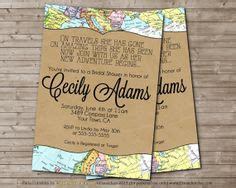 Travel Themed Bridal Shower Invitations Travel Themed Bridal Shower Invitations With Some Travel Themed Invitation Template Free