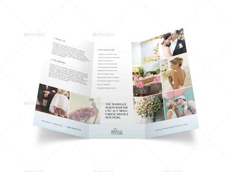wedding studio brochure bridal studio trifold brochure by mike pantone graphicriver