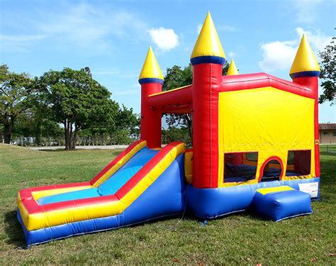 bouncing house 4in1 bounce house combo rental in miami