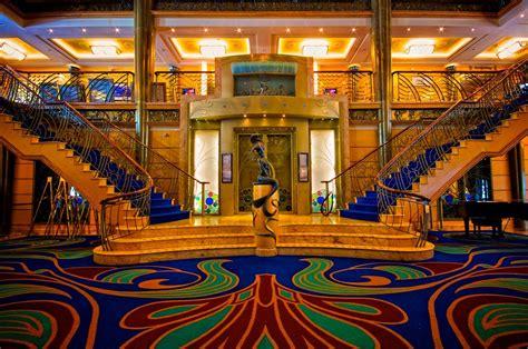 disney cruise line disney wonder main lobby disney