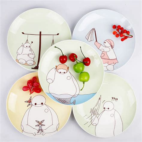 Piring Kue Keramik Porselen 6 Inch Polos constellation plates beli murah constellation plates lots