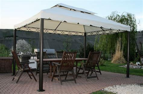 pavillon 3x4m stabil luxus pavillion valencia 3x4m creme beige 240g m 178 ebay
