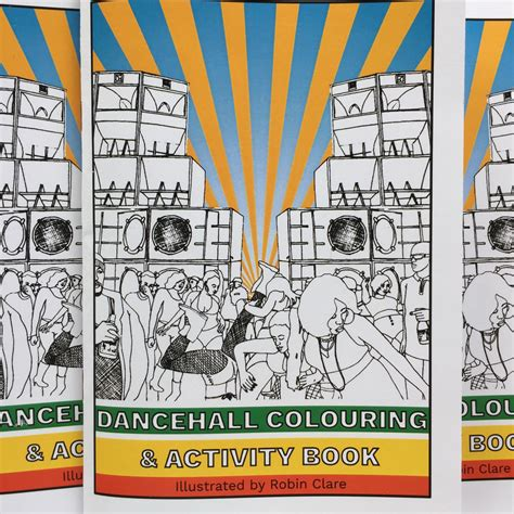 danethrall a novel books visual culture colouring dancehall with illustrator robin