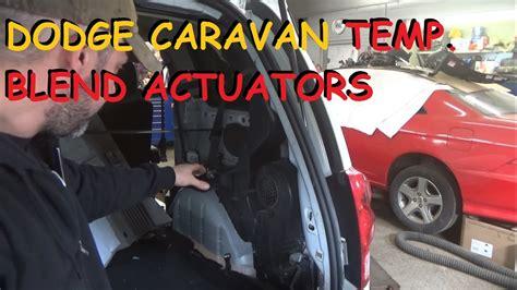 dodge grand caravan rear heater clicking front heat doovi