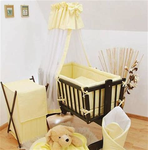 swinging crib bedding sets with drapes 7 piece crib baby bedding set 90x40 canopy fits rocking