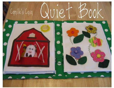 quiet book barn pattern camille s casa quiet book revealed