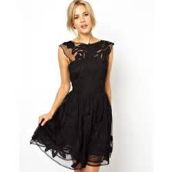 Galerry party dress in black