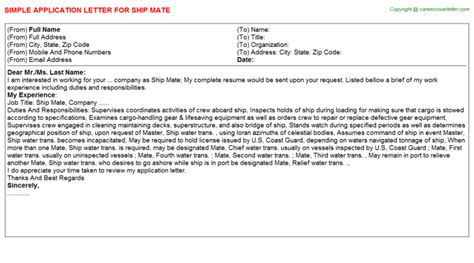 Cruise Ship Bartender Cover Letter by Cruise Ship Bartender Application Letters