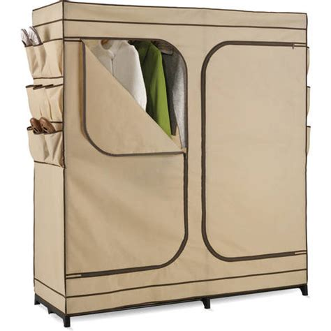Storage Closet With Doors by Honey Can Do 60 Quot Door Storage Closet With Shoe