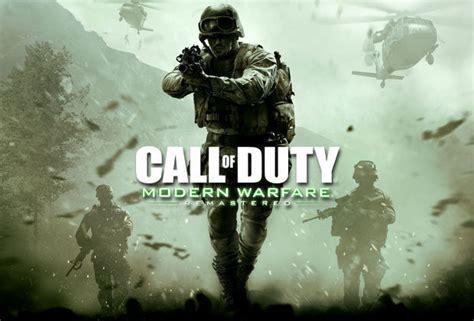 Kaset Ps4 Call Of Duty Modern Warfare Remastered Call Of Duty Infinite Warfare And Modern Warfare Multiplayer Update Daily