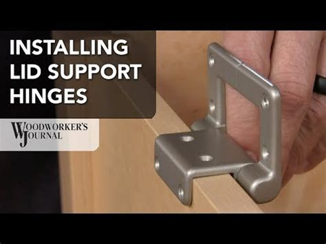 lid stay torsion hinge lid supports rustic bronze finish
