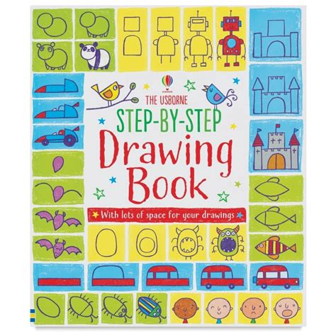L Drawing Book by The Usborne Step By Step Drawing Book Blick Materials