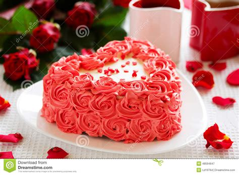 birthday on valentines day birthday cake for s day stock image image of