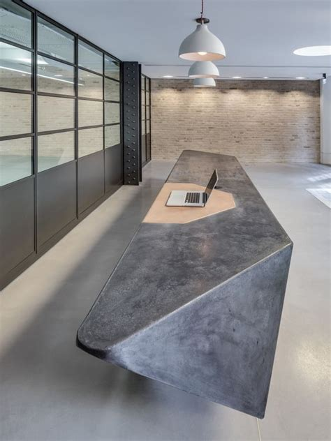 Pinterest The World S Catalog Of Ideas Concrete Reception Desk