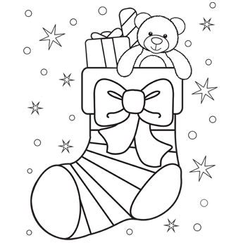 cute stocking coloring page christmas stocking coloring page free christmas recipes
