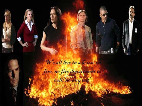 House On Fire Criminal Minds Girls Wallpaper 9454558 Fanpop