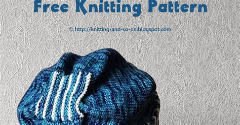 w and t knitting knitting and so on knit only slouch hat