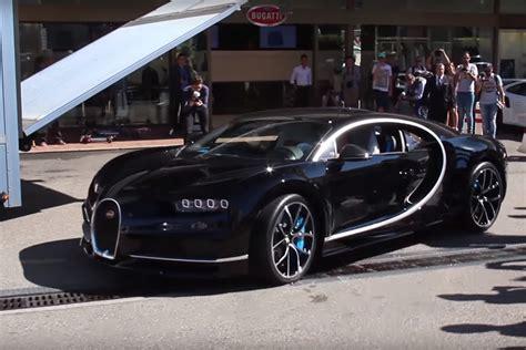new bugatti a new bugatti chiron gets delivered in monaco