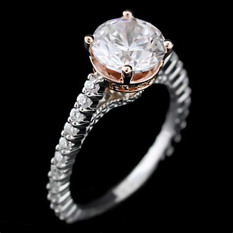 custom design your own engagement ring miadonna 174 the