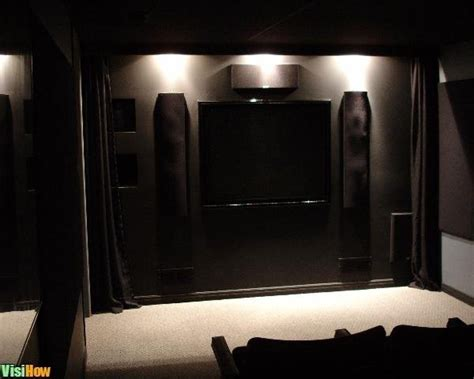 how to design and build a home theater front wall visihow