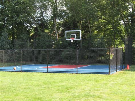 Backyard Sport Court Ideas Best 25 Backyard Basketball Court Ideas On Pinterest Outdoor Basketball Court Basketball