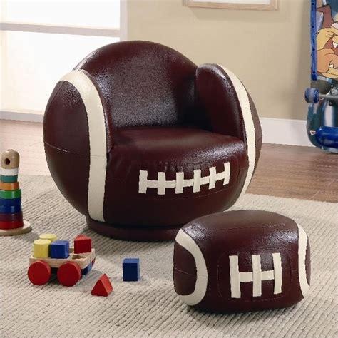 kids football chair and ottoman coaster kids sports chairs small kids football chair and