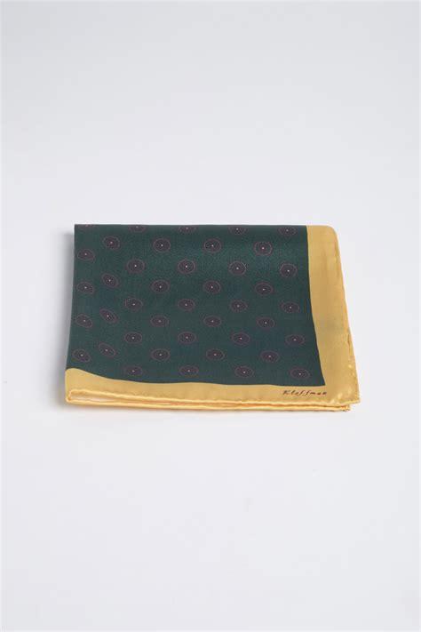 Square Pocket pocket square silk pocket square green pocket square