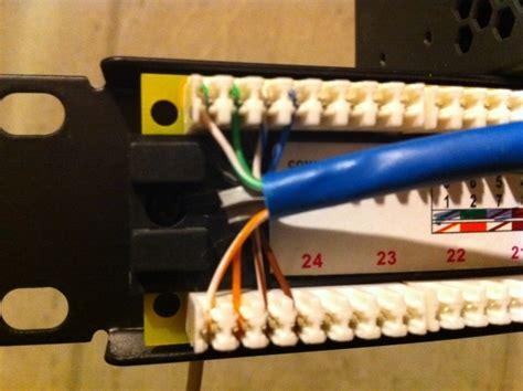 help wiring monoprice cat6 patch panel h ard forum