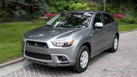 outlander mitsubishi 2011 2011 mitsubishi outlander sport review lotpro youtube